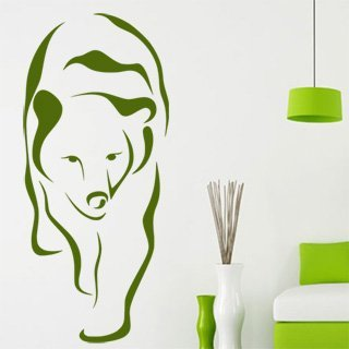 Samolepící dekorace Medvěd 003 - 80x182 cm