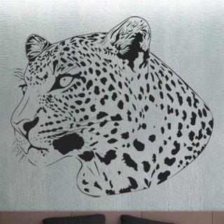 Samolepka na zeď Leopard 002 - 100x86 cm