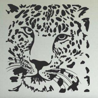 Samolepka Tygr 008 - 114x120 cm