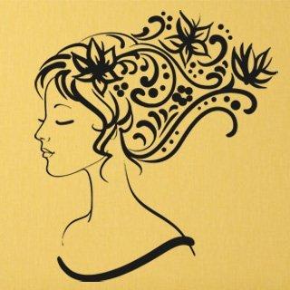 Samolepící dekorace Žena 009 - 108x120 cm