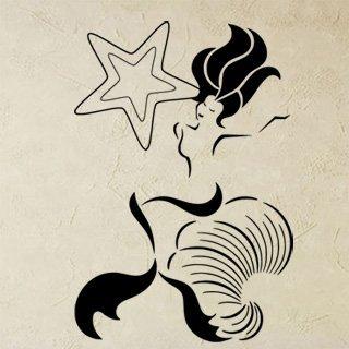 Samolepka Mořská panna 0281 - 82x120cm
