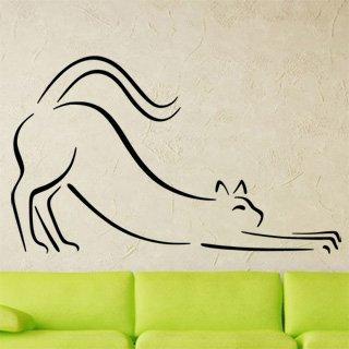 Nálepka na zeď Kočka 0426 - 167x100 cm