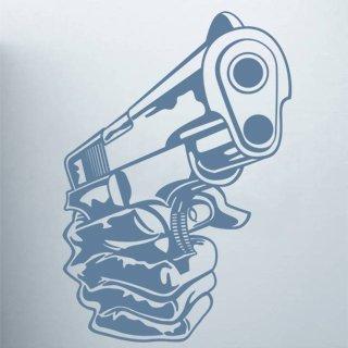 Nálepka na zeď Pistole 001 - 100x144 cm