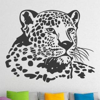 Nálepka na zeď Leopard 006 - 124x100 cm