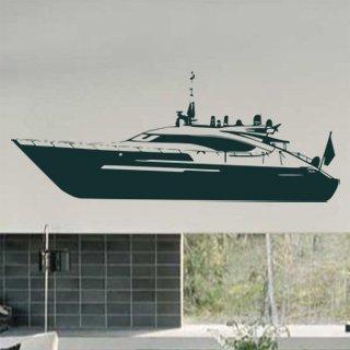 Samolepka na stěnu Loď 015 - 300x120 cm