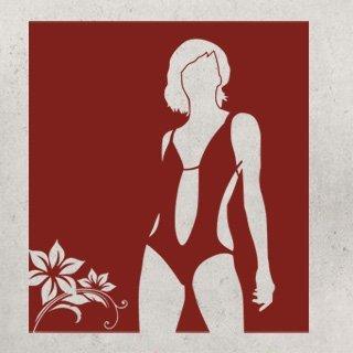 Samolepící dekorace Žena 026 - 100x111 cm