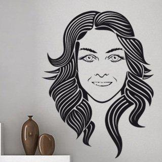 Samolepka na stěnu Žena 001 - 120x160 cm