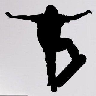 Nálepka na zeď Skateboardista 005 - 120x121 cm