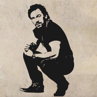 Nálepka na zeď Bruce Springsteen 001 - 120x206 cm