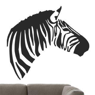 Samolepka na zeď Zebra 005 - 68x60 cm
