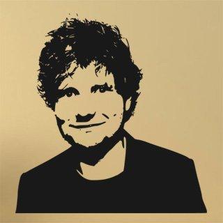 Samolepka Ed Sheeran 1349 - 116x120cm