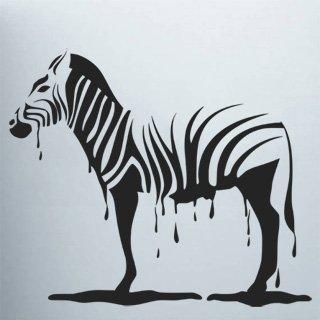 Samolepka na zeď Zebra 011 - 100x86 cm