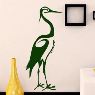 Samolepící dekorace Čáp 004 - 100x229 cm