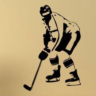 Nálepka na zeď Hokejista 0605 - 120x179 cm