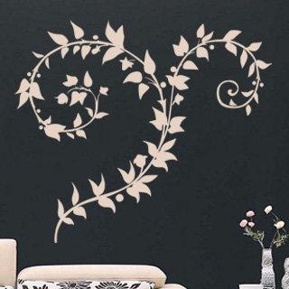 Samolepka Ornamenty z rostlin 038 - 93x80 cm