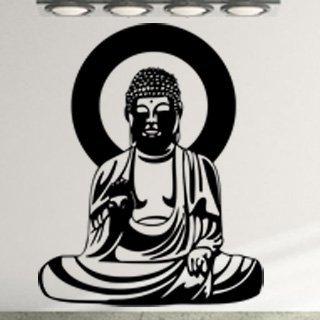 Nálepka na zeď Budha 001 - 100x182 cm