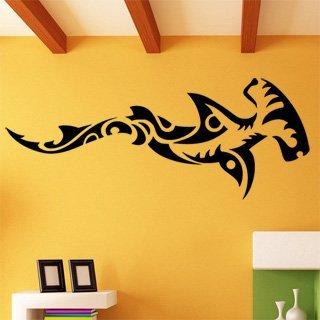 Samolepka na stěnu Žralok 008 - 300x120 cm