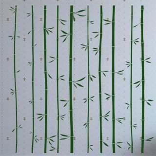 Samolepka na zeď Bambus 011 - 80x82 cm