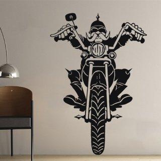 Samolepka na zeď Motorkar 001 - 82x120 cm