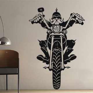 Samolepící dekorace Motorkar 001 - 120x176 cm