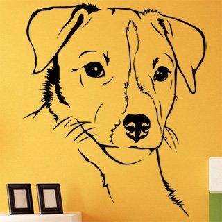Samolepící dekorace Jack Russell Teriér 001 - 103x120 cm