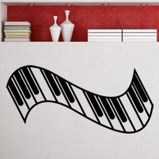Samolepka Piano 007 - 131x60 cm