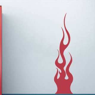 Samolepka na zeď Plameny 012 - 60x255 cm