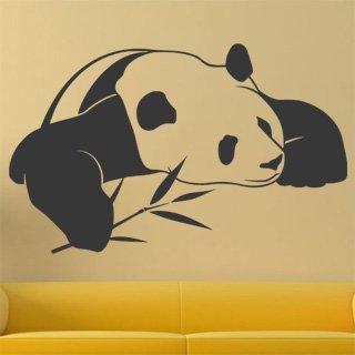 Samolepka na zeď Panda 003 - 98x60 cm