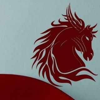 Samolepka Kůň 003 - 109x120 cm