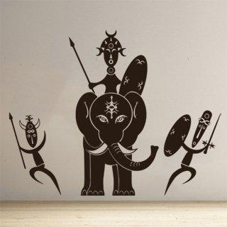 Samolepka Afričani 006 - 154x120 cm