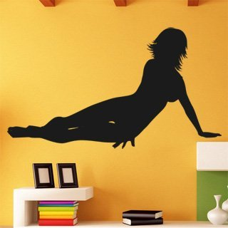 Samolepka na stěnu Sexy žena 002 - 215x120 cm
