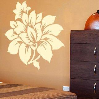 Samolepka na stěnu Květiny 007 - 120x127 cm