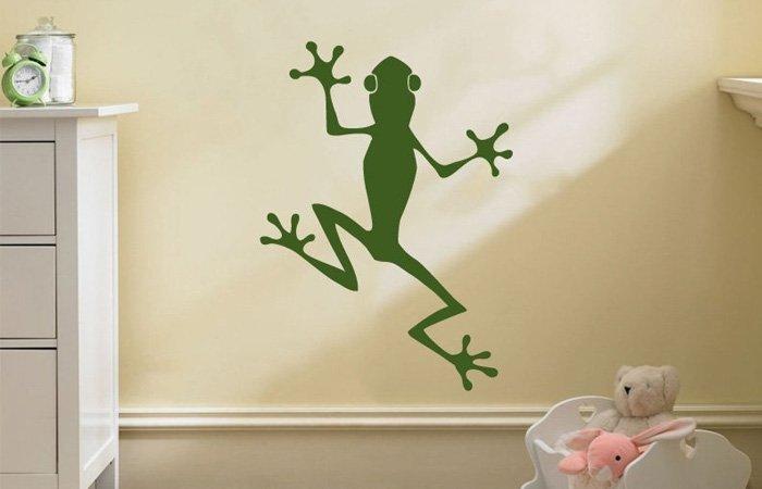 Tip: Samolepka na zeď žába
