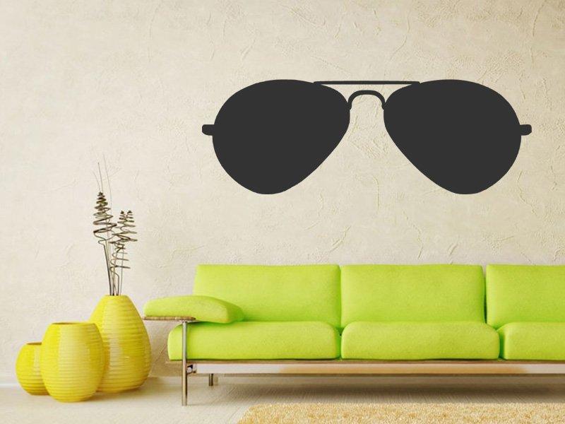 Samolepka na zeď Sluneční brýle 1280