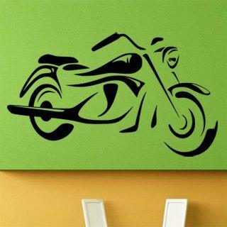 Samolepící dekorace Motorka 014 - 138x80 cm