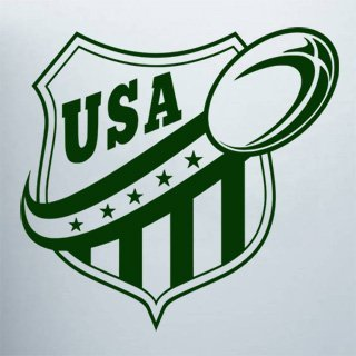 Samolepka na stěnu Americký fotbal 001 - 126x120 cm