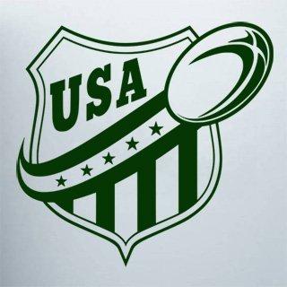 Samolepka na zeď Americký fotbal 001 - 63x60 cm