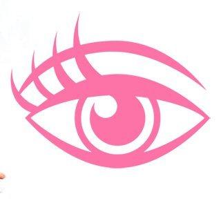 Samolepka Oko 002 - 104x80 cm