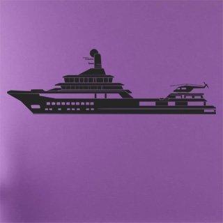 Samolepící dekorace Loď 009 - 260x80 cm