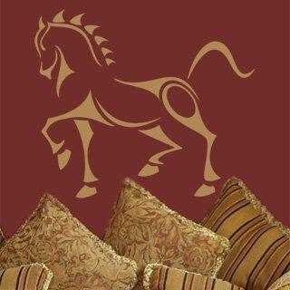 Samolepka na zeď Kůň 001 - 70x60 cm