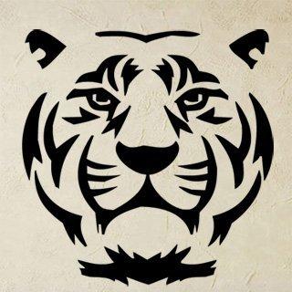 Samolepka na zeď Tygr 007 - 60x61 cm