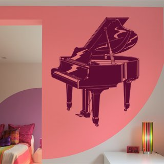 Samolepka Piano 001 - 97x120 cm