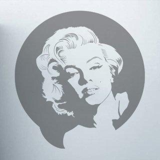 Samolepka na zeď Marylin Monroe 001 - 100x107 cm