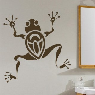 Samolepící dekorace Žába 002 - 100x107 cm