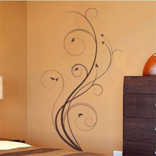 Samolepka na stěnu Výhonky 006 - 120x209 cm