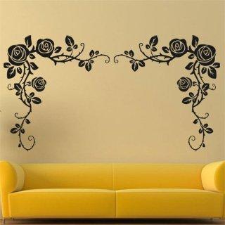 Nálepka na zeď Růže 0185 - 226x120 cm