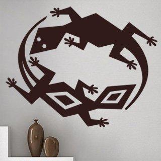 Samolepka na zeď Ještěrka 008 - 75x60 cm