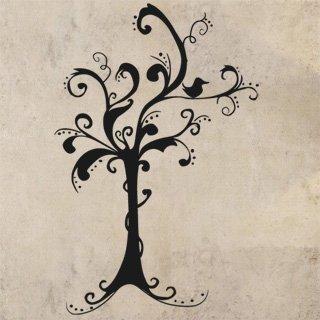 Samolepící dekorace Strom 039 - 120x183 cm