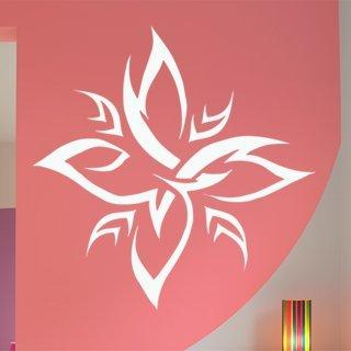 Samolepící dekorace Kytky 006 - 100x100 cm