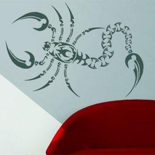 Samolepící dekorace Škorpión 005 - 120x124 cm